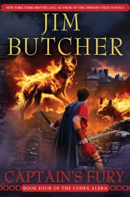 Codex Alera de Jim Butcher Captains-fury