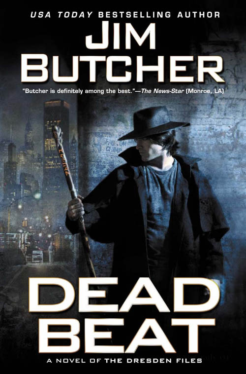 Dead Beat Cover Art Is In Jim Butcher