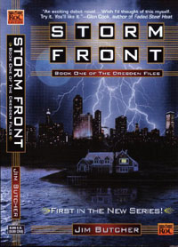 Storm Front by Jim Butcher,  Dresden Files BOok 1