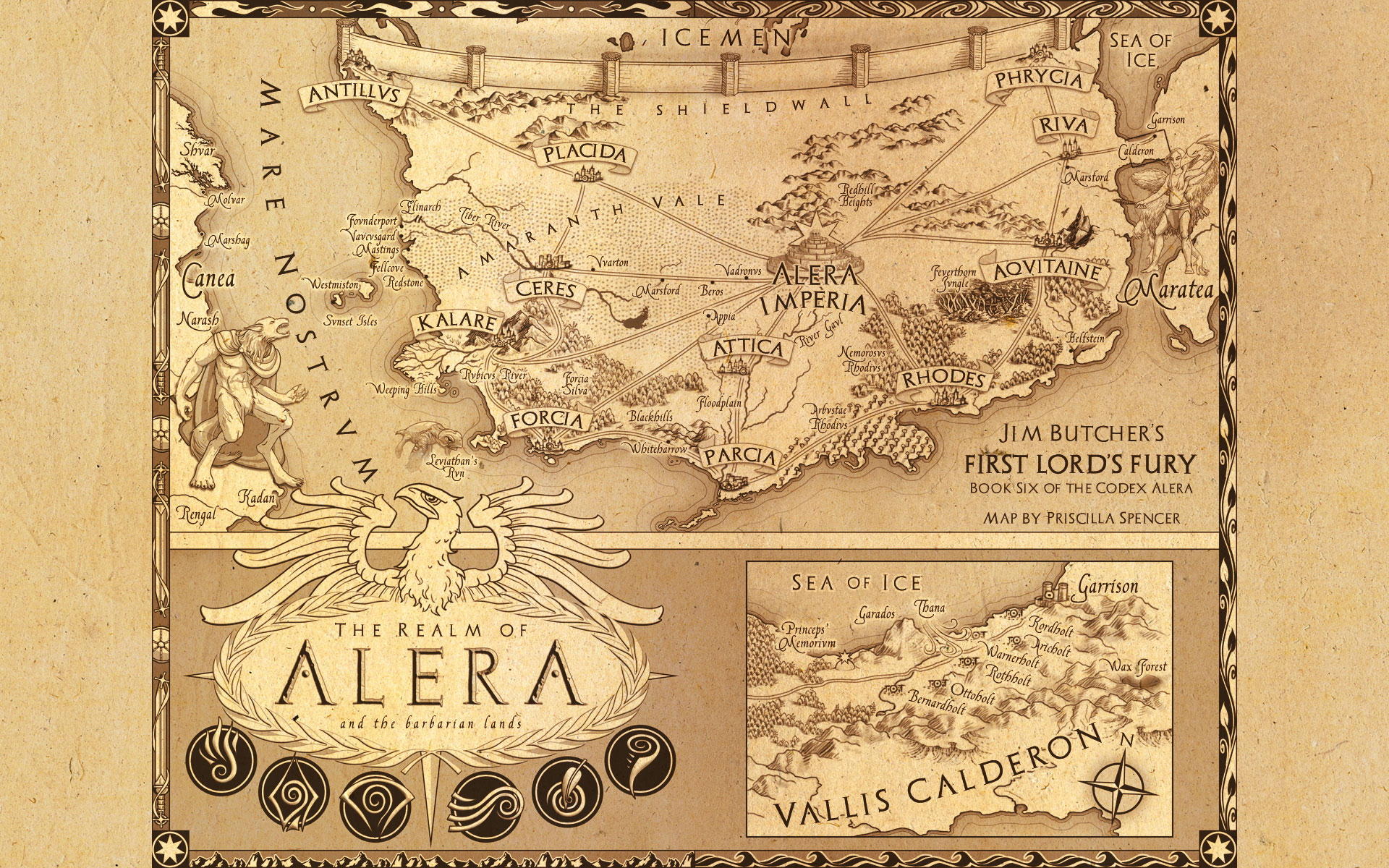 A fantasy reader index of maps codex alera gumiabroncs Gallery
