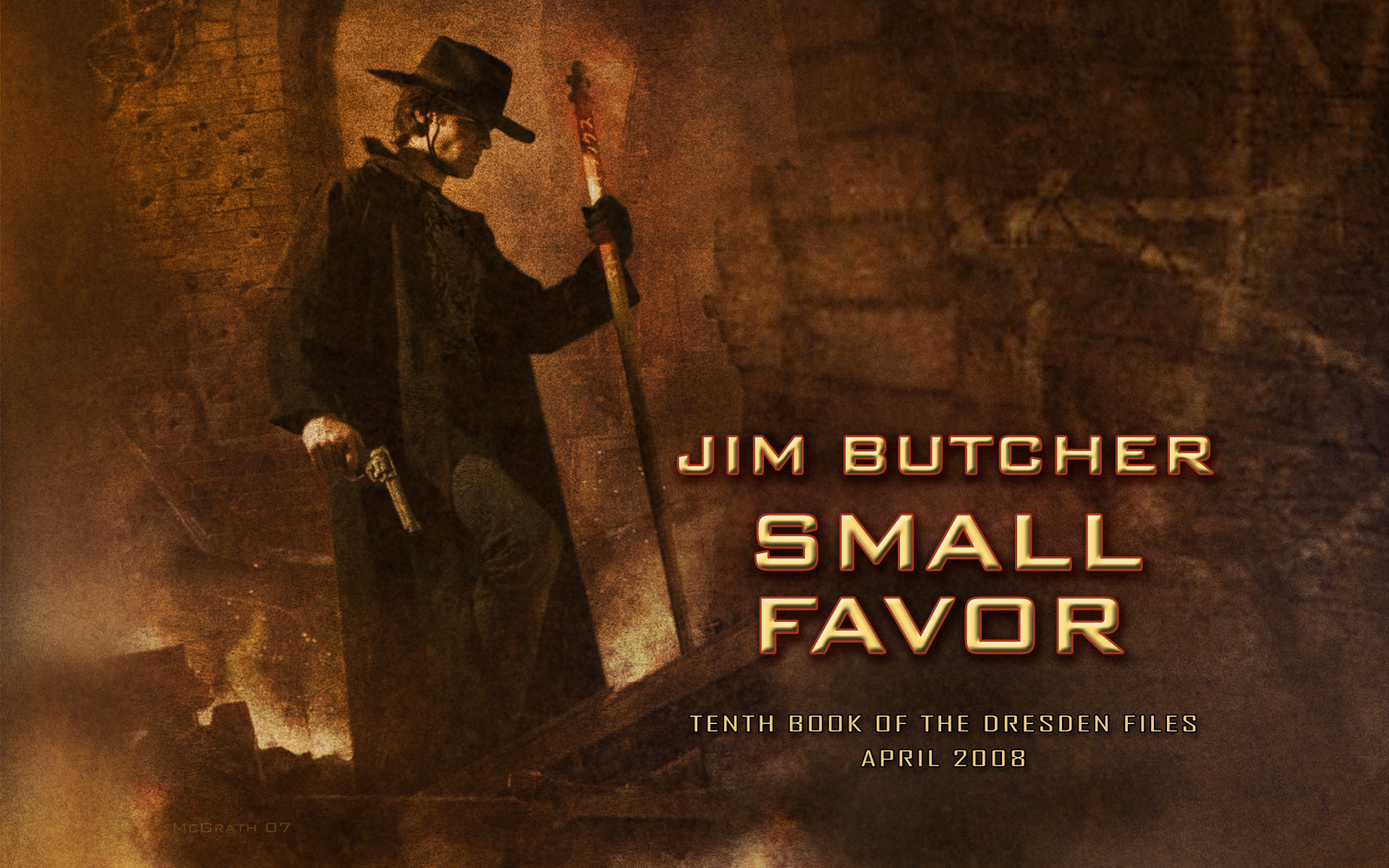 Small Favor Cover And Wallpaper Jim Butcher
