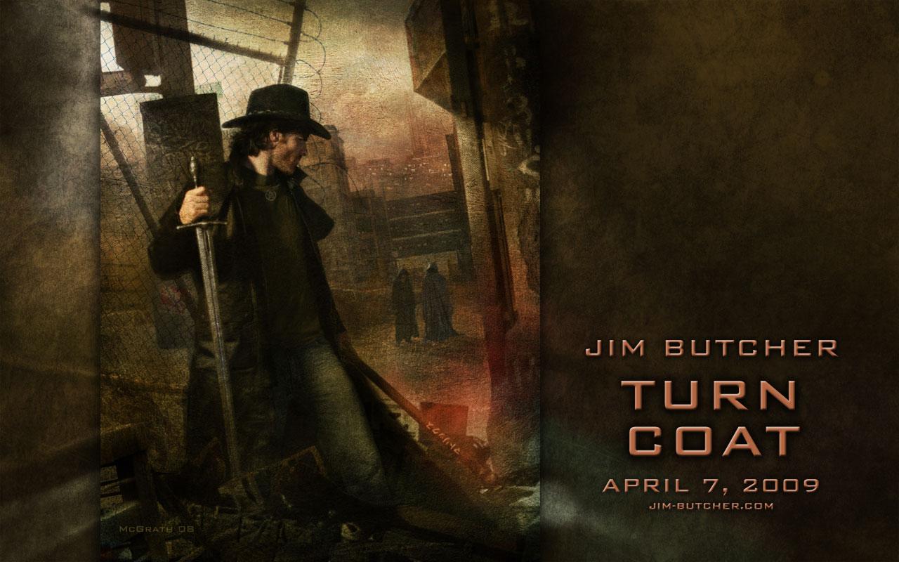 Turn Coat Wallpapers Jim Butcher