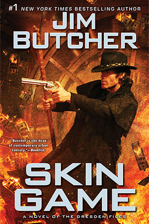 Jim Butcher's Skin Game jacket cover