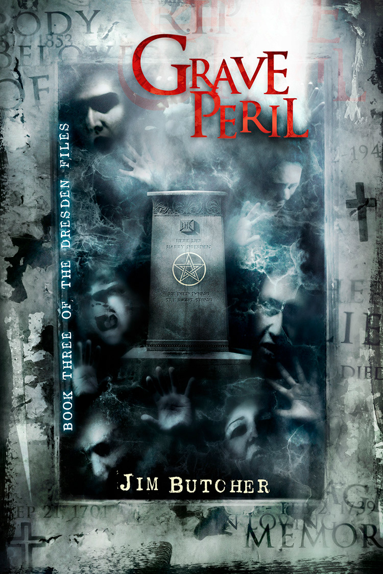 Vincent Chong cover for Grave Peril