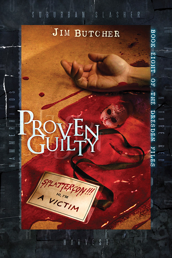 Vincent Chong cover for Proven Guilty