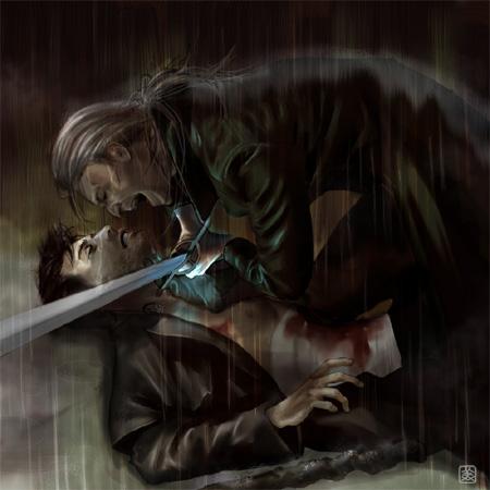 Harry vs Morgan by Mika Kuloda