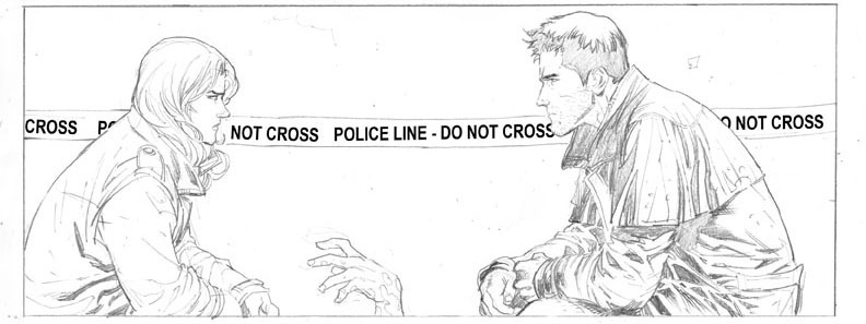 Do Not Cross, by Ardian Syaf