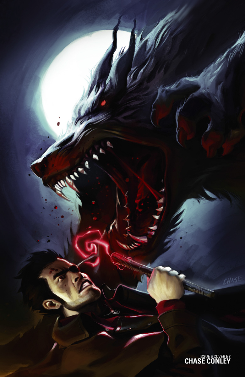 Harry vs the Loup Garou by Chase Conley