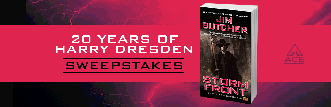 20 Years of Harry Dresden Sweepstakes