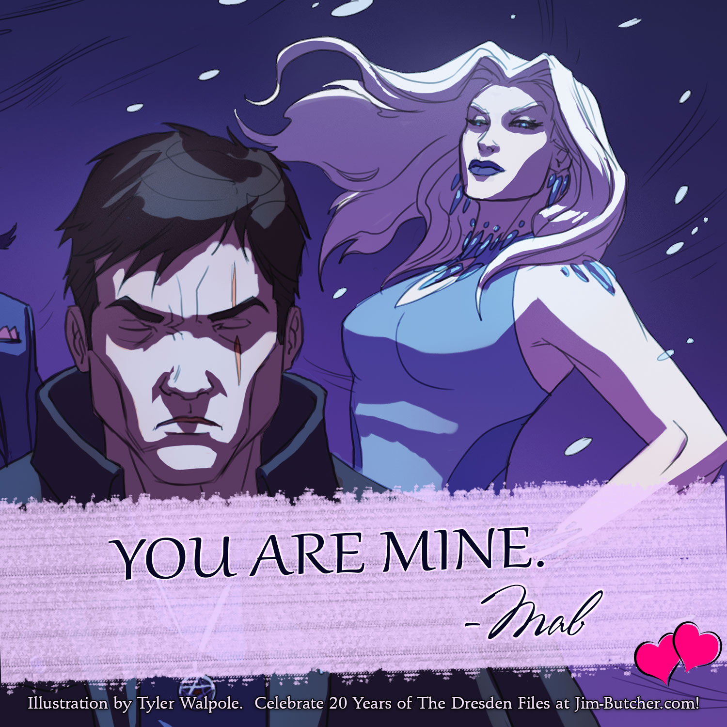 Mab: YOU ARE MINE.