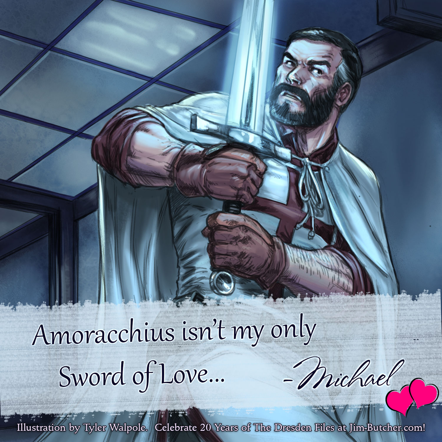 Michael: Amoracchius isn't my only Sword of Love...