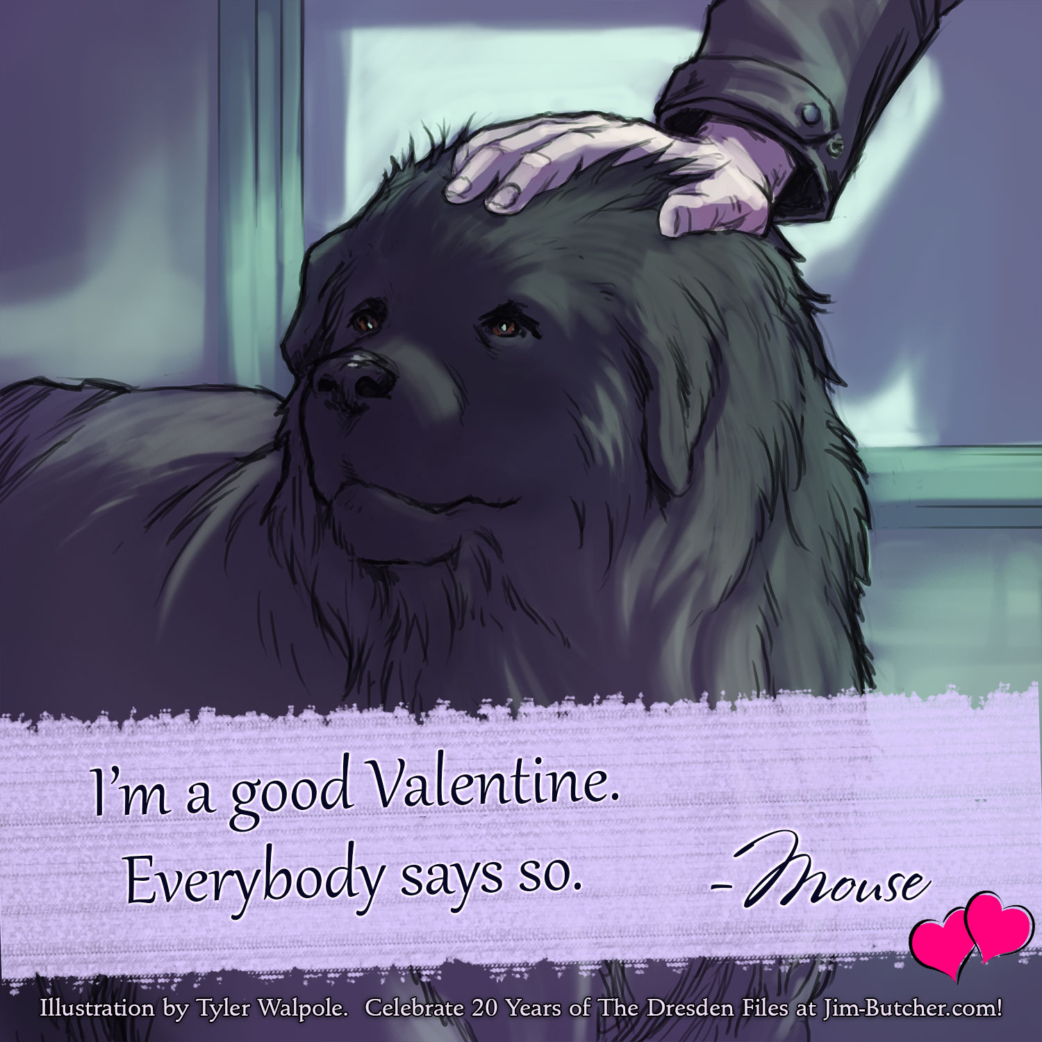 Mouse: I'm a good Valentine. Everybody says so.