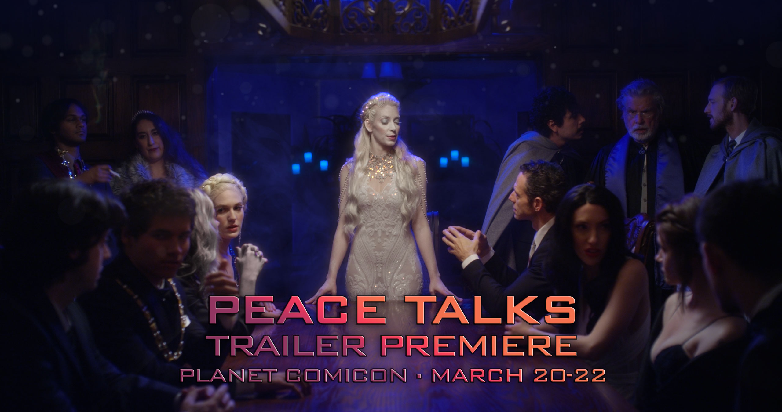 Peace Talks Trailer Premiere March 20-22 at Planet Comicon in Kansas City