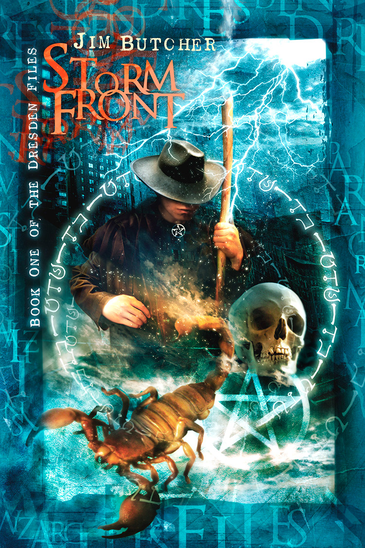 Subterranean Press edition of Storm Front, cover by Vincent Chong