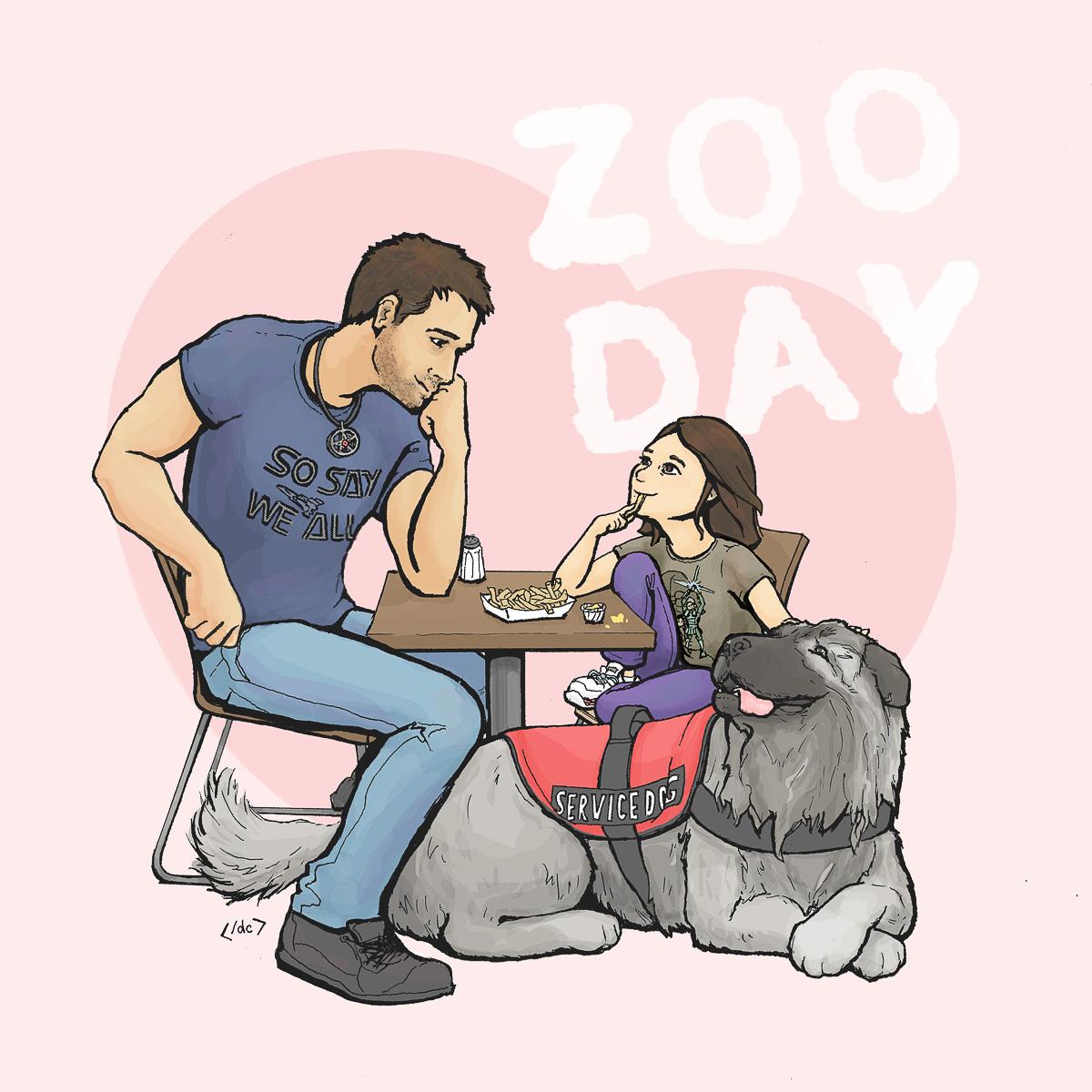Zoo Day by Danielle Camorlinga