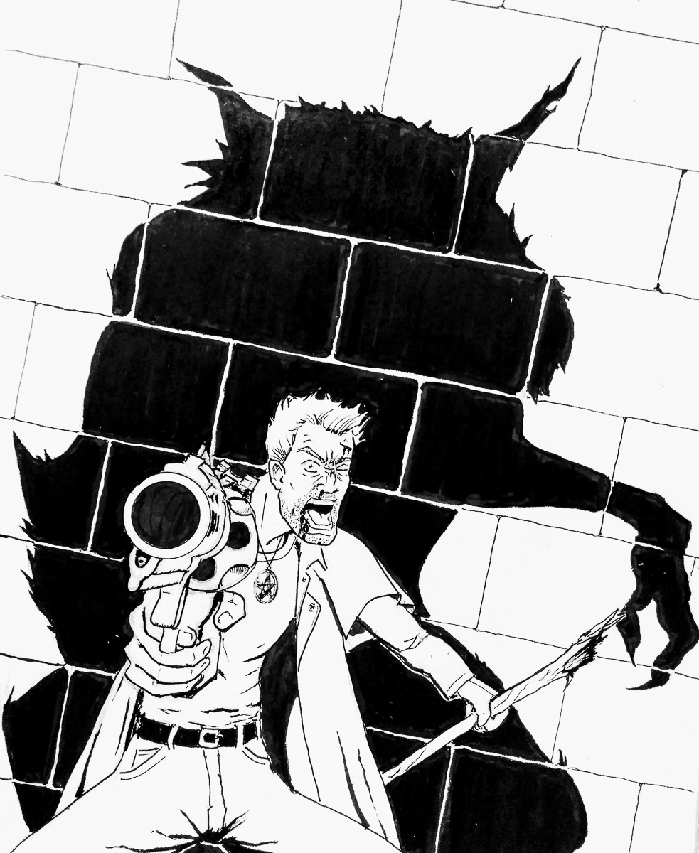 Harry vs the Werewolf by Bernard Castro