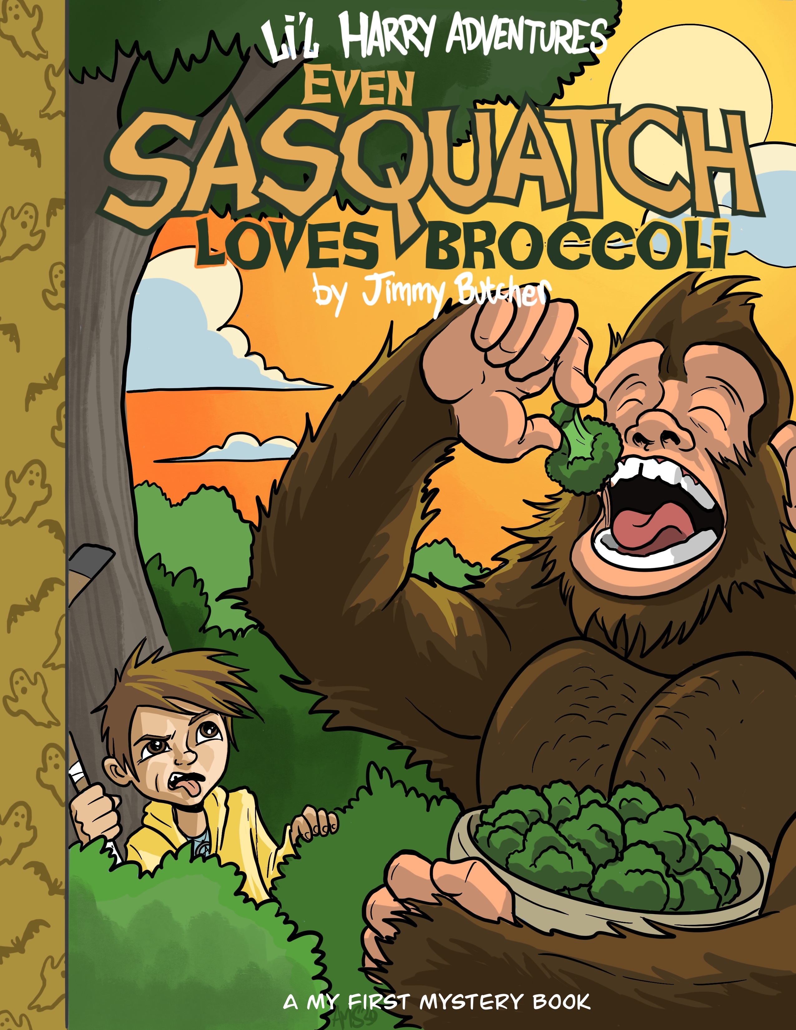Li'l Harry Adventures: Even Sasquatch Loves Broccoli!