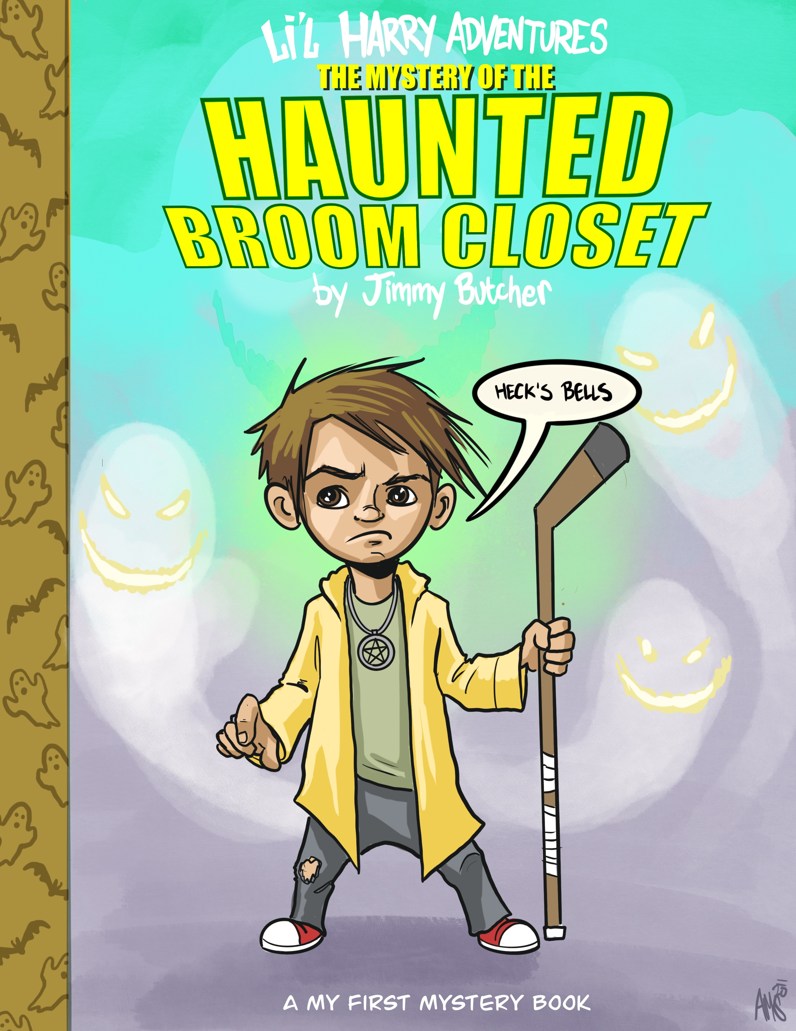 Li'l Harry Adventures: The Mystery of the Haunted Brook Closet