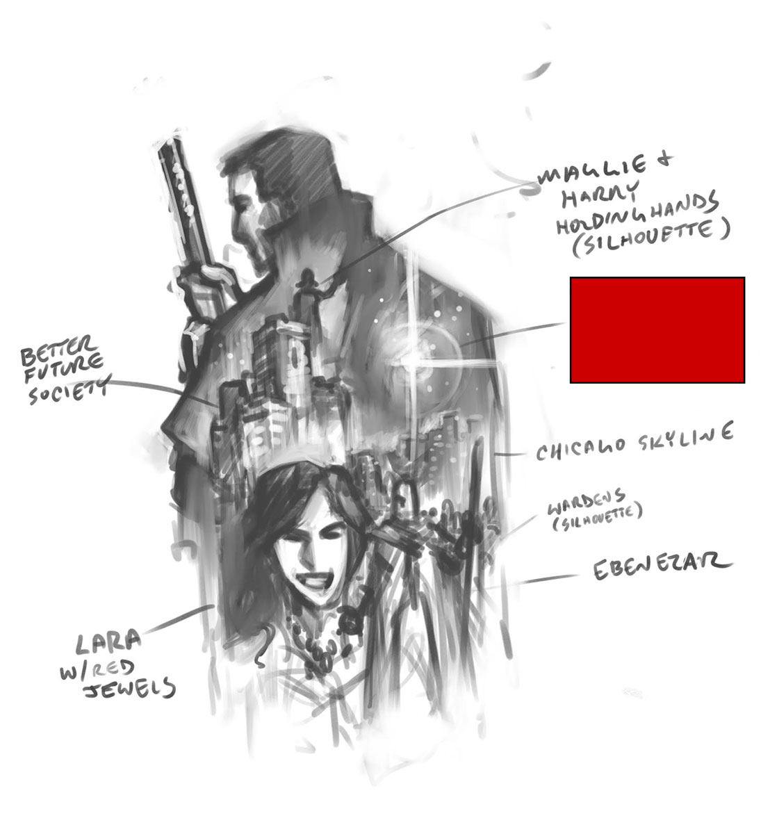 Tyler Walpole - Concept Sketch