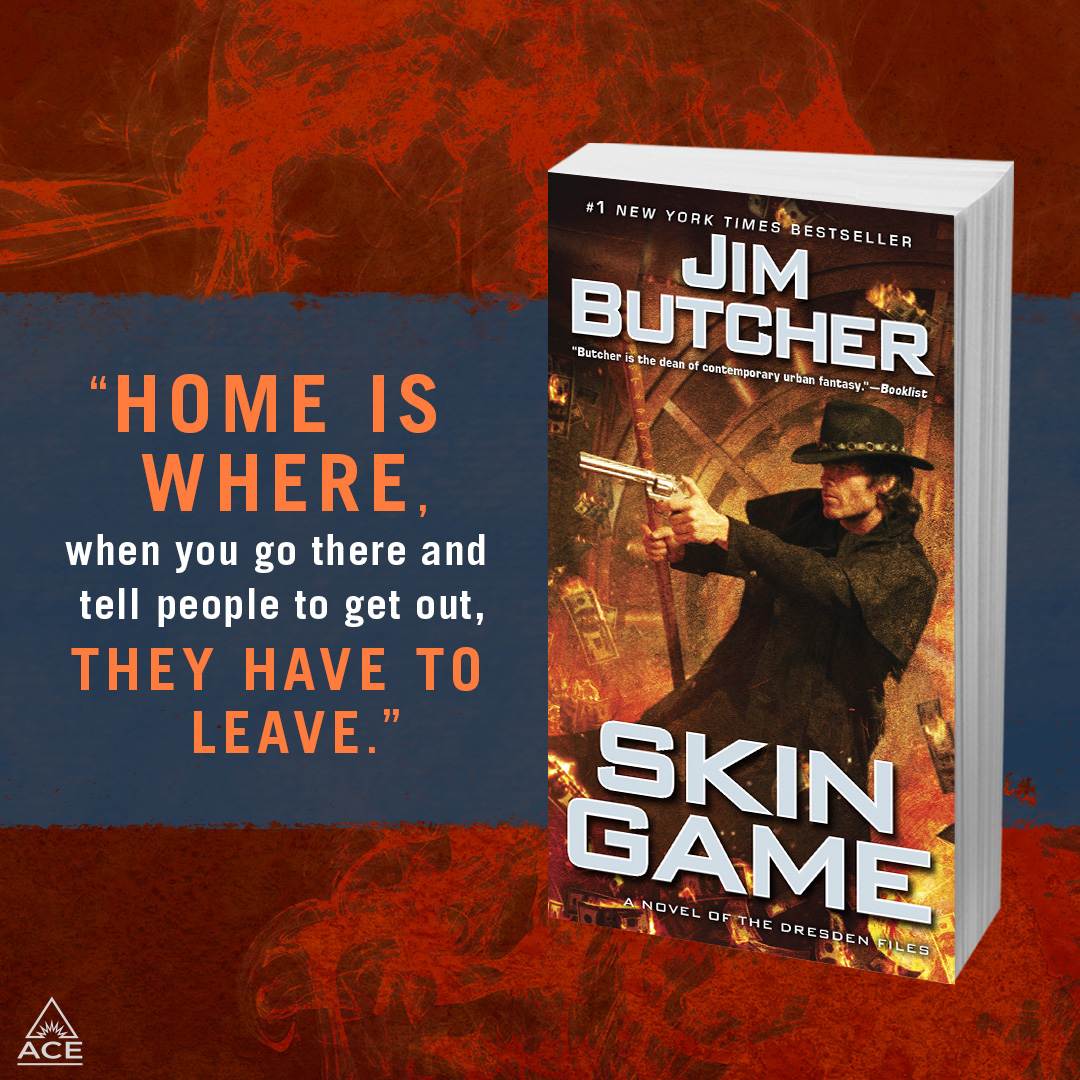 Home is where, when you go there and tell people to get out, they have to leave. --Skin Game