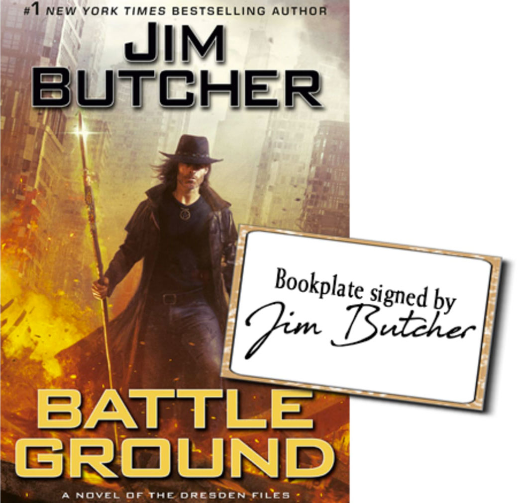 Signed Battle Ground