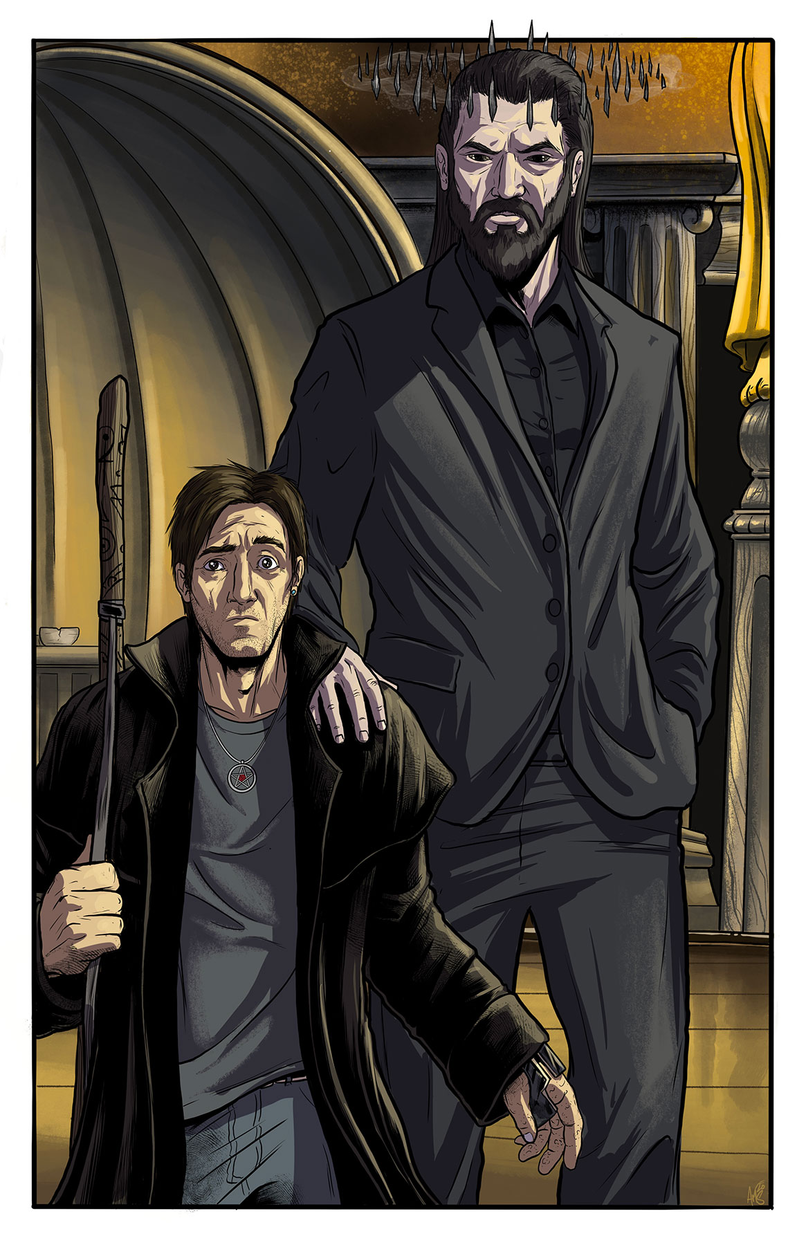 Harry and Hades by Adam Mathison-Sward