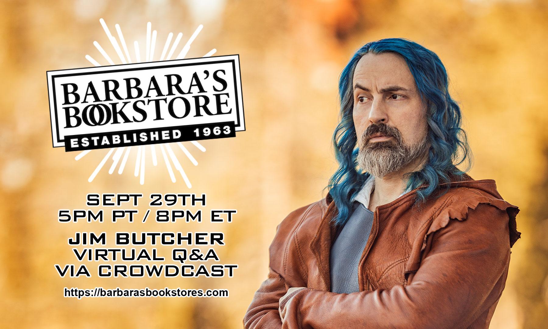 Barbara's Bookstore Event