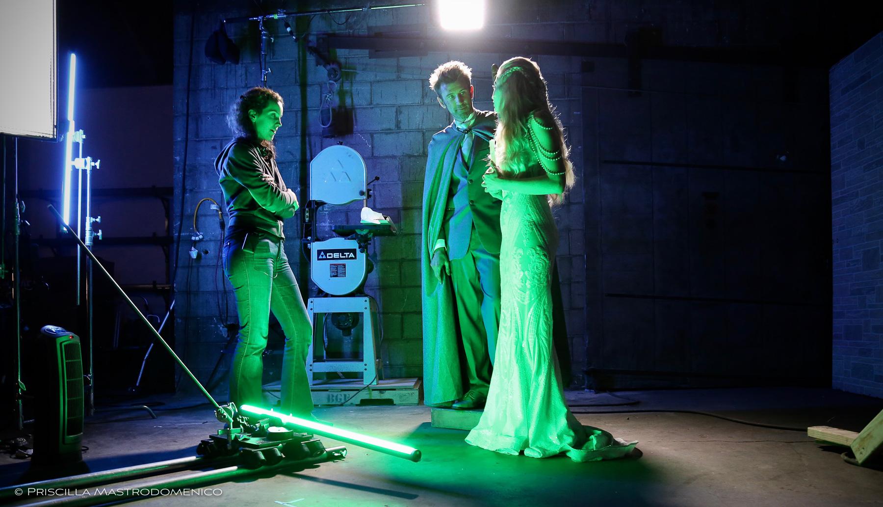 Priscilla directs Harry/Jason and Mab/Liz