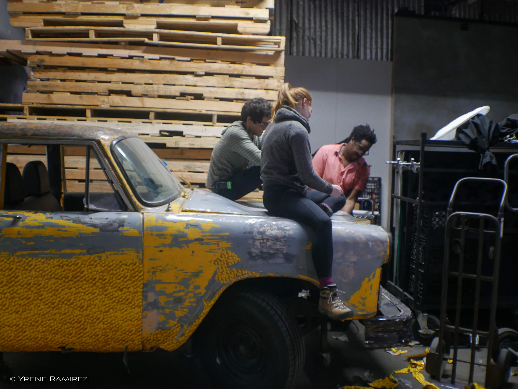 Stripping the Cab