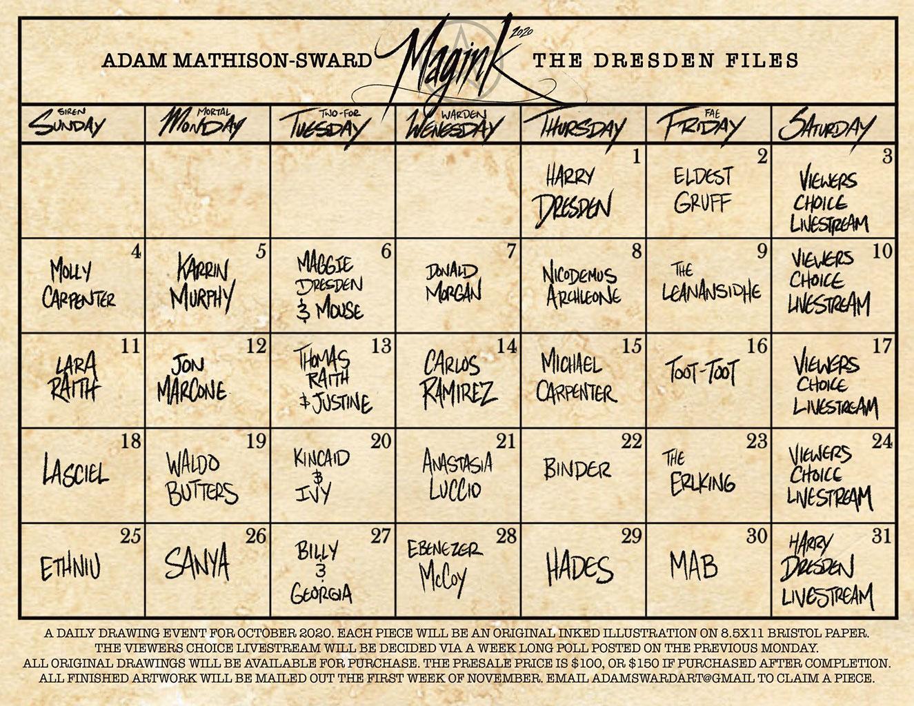 Magink Calendar