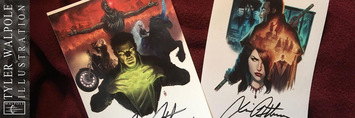 Autographed Peace Talks and Battle Ground bookplates by Tyler Walpole