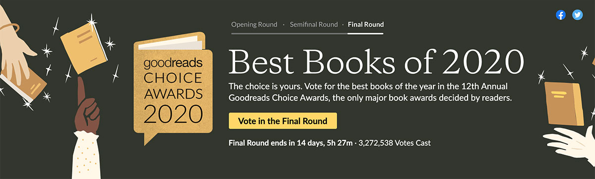Goodreads Choice Awards Final Round